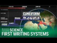 The introduction of writing systems changed the world. It allowed humans to physically express thoughts and language, as well as record events for future gen. Ancient Scripts, Ancient Art, Einstein, History Of Earth, History Articles, Ancient Mesopotamia, Sumerian, Start Writing, First World