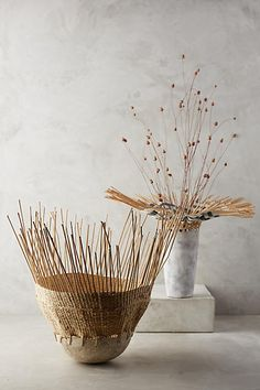 River Reed Vase - anthropologie.com