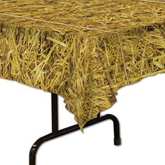 Straw Table Cover