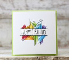 Best Picture For DIY Birthday Cards calligraphy For Your Taste You are looking for something, and it is going to tell you exactly what you are looking for, and you didn't find that picture. Creative Birthday Cards, Handmade Birthday Cards, Happy Birthday Cards, Creative Cards, Greeting Cards Handmade, Watercolor Birthday Cards, Birthday Card Drawing, Watercolor Cards, Birthday Doodle