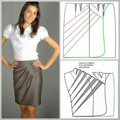 Pattern Making Books, Sewing Sleeves, Easy Sewing Patterns, Fashion Design Sketches, Pattern Cutting, Fabric Manipulation, Sewing For Beginners, Casual Outfits, Fashion Outfits