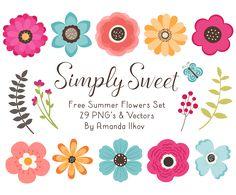 Free Summer Flowers
