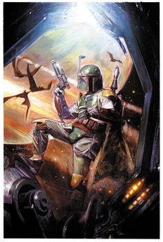 Stunning STAR WARS Art by Tommy Lee Edwards