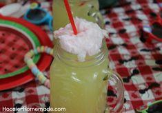 Cotton candy lemonade