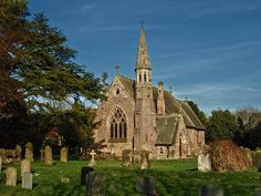 St. Mary's Church, Staindrop, England South of the Raby estate, and family burial site.