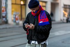 The Soccer Scarf is an Instant Winter Style Fixer Photos | GQ