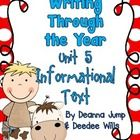 Unit 5- Informational Text Writers Workshop is a wonderful way to incorporate all of the ELA standards while introducing your students to the love...