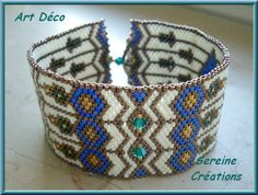 Pattern bijoux: Bracciale Art Deco 1