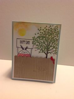 Happy Day Critter Stampin' Up! Hanukkah Cards, Hello Spring, Stamping Up, Flower Cards, Kids Cards, Happy Day, Stampin Up Cards, Happy Easter, Crafts To Make