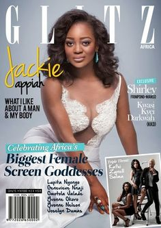 awesome JACKIE APPIAH COVERS 8TH ISSUE OF GLITZ AFRICA