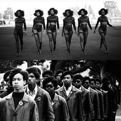 OCTOBER 2016 is the 50th Anniversary of THE BLACK PANTHER PARTY.  Beyoncé contributed performance in honor of Black Panther Party.