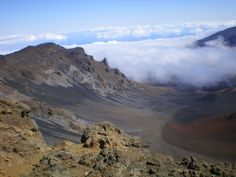 Haleakala Crater - Maui. I've been here, but need to get back! It's an amazing place.