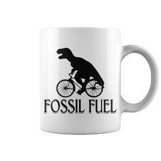 Fossil Fuel Mug White