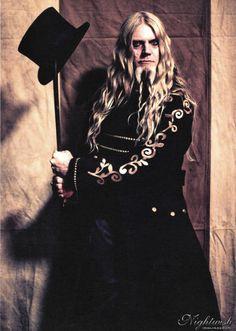 Hairspiration: Guitarist Marco Hietala of Nightwish and Tarot. Got to love those long waves (and the Viking beard).