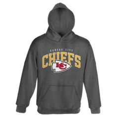 Kansas City Chiefs Fleece Hoodie - Boys 8-20