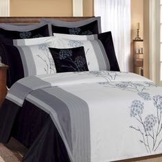 Your Bedding, Home Decor, Kitchen & Bath Experts Bedroom Bed, Dream Bedroom, Brown And Grey, Gray, Bath Decor, Chrysanthemum, Bedding Collections, My Room, Sweet Dreams