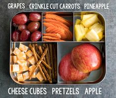 Easy Lunch Ideas for Kindergarten Lunch Box 2