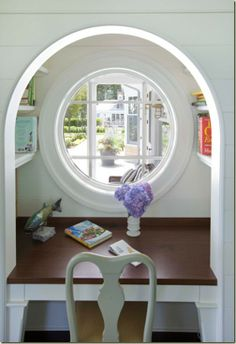 porthole to the world