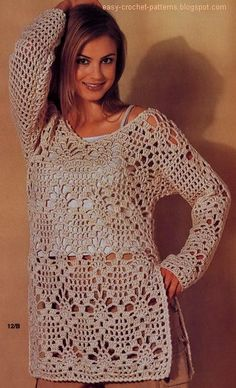 Crochet tunic tutorial