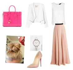 """""""pent"""" by yesica-cruz on Polyvore featuring Roksanda, Rebecca Taylor, ASOS Curve, Christian Louboutin and Yves Saint Laurent"""