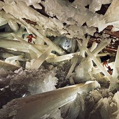Naica Crystal Cave in Mexico