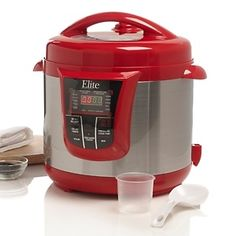 Elite 13-Function 8qt Electronic Pressure Cooker at HSN.com.