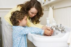 Good hygiene in potty training consists of much more than just washing hands. Encourage your child to wipe the seat when he or she is done.