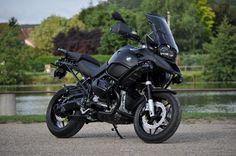 """Panda Moto 89 - BMW R1200GS BlackMat Matte Black Adventure <br />  <a href=""""http://www.pandamoto.fr/"""">http://www.pandamoto.fr/</a>"""