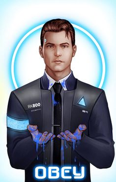 Detroit become human Connor By: MizLizBarlow