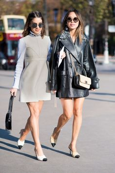 On the street at Paris Fashion Week | ZsaZsa Bellagio - Like No Other