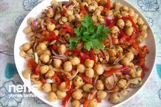 Nohut Salatası Yapılışı