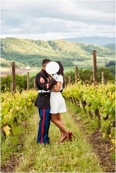 A Military Engagement Session by Imago Dei Photography | Le Magnifique Blog