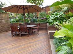 Resort style garden