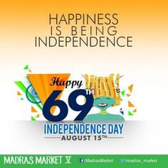 Let's feel proud... To be a part of... Our glorious nation... And hoist the... Tricolor high... Happy Independence Day.  #MadrasMarket #Madras #IndependenceDay #Happy #Freedom #Proud