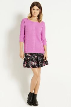 Our Textured Cotton Waffle Jumper comes in lots of colours, but guess our favourite...