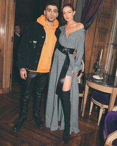 Zayn Malik and Gigi Hadid thank fans for iHeartRadio Music Awards win