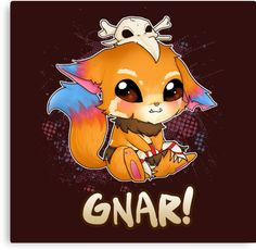 GNAR chibi - League of Legends by linkitty