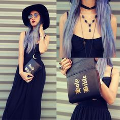 bdce8a8a5b02  lookbook  chictopia  holybible  bag  clutch  gothic  goth  ootd