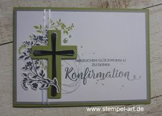 Confirmation in three parts … cards … Diy Projects For Kids, Diy Crafts For Kids, Kids Diy, Confirmation Cards, Stampin Up Karten, Christian Cards, Upcycled Crafts, Upcycled Clothing, Get Well Cards