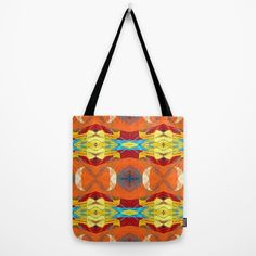 Mexican Pattern Tote Bag by Jude's | Society6