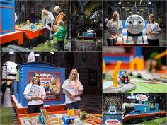 Fotografie Kathleen Rits maakte een kleine reportage van de promo-actie van Mattel voor Thomas & Friends in het Centraal station van Antwerpen.