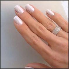 173 fresh design ideas for almond shaped nails page 11 - - 173 fresh design ideas for almond shaped nails page 11 Blush Pink Nails, Cute Pink Nails, Purple Nails, Green Nails, Pretty Nails, Short Nail Manicure, Short Gel Nails, Fall Acrylic Nails, Metallic Nails