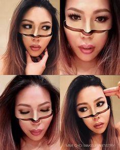 Жутковатый макияж от Mimi Choi - ЯПлакалъ