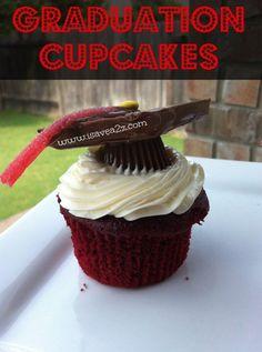 Graduation Cupcakes Dessert Idea