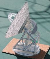 Paper Model: build your own DSN Station paper model, ages 10 and up