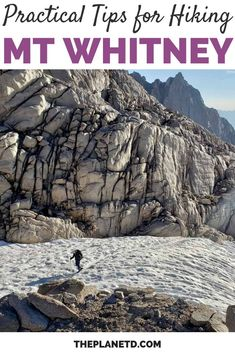 12 essential tips every hiker should know when planning their own Mount Whitney adventure. Featuring a 22.5 mile out-and-back trail involving a 6,656 foot elevation gain, hiking Mount Whitney is on virtually every hiker's bucket list. | Blog by the Planet D | #MtWhitney #MountWhitney #Hiking #California | mount whitney hiking | mt whitney hike Greatest Adventure, Adventure Awaits, Adventure Travel, Mount Whitney, Local Festivals, Together Lets, 7 Continents, One With Nature, Exotic Places