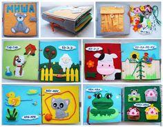 """Купить Мягкая развивающая книжка """"Чьи это голоса?"""" - разноцветный, развивающие игрушки, мягкая развивающая книжка"""