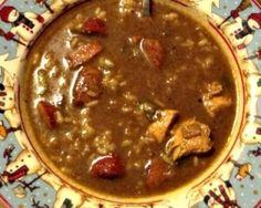Turkey/Chicken and Sausage Gumbo #recipe