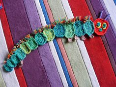 The Very Hungry Caterpillar Inspired Scarf