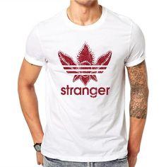 ce21bdbe0283b Red Clover Stranger 3D Print Men T Shirt
